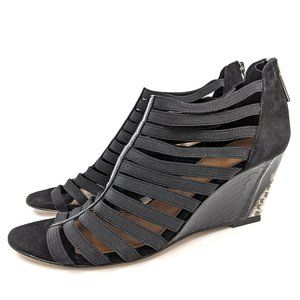 Donald J. Pliner NEW 'Pelle' Snake Embossed Wedge